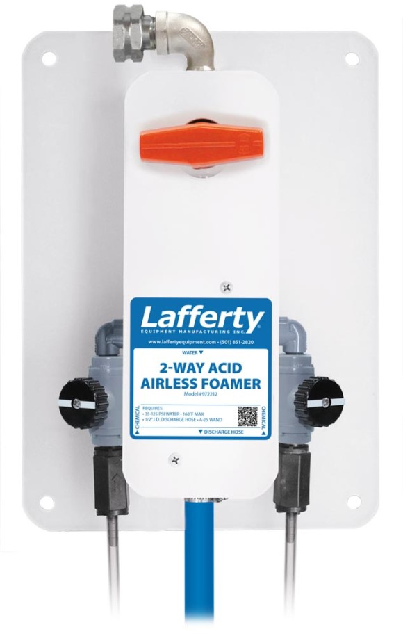 Lafferty 2-Way Acid Airless Foamer Complete